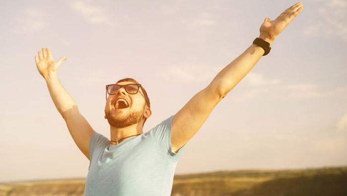 ¡Tenga entusiasmo!