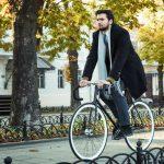 A trabajar en bicicleta